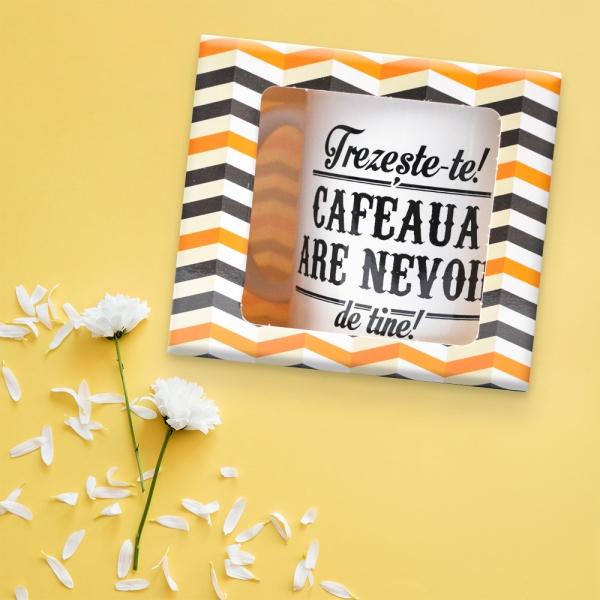Cana Trezeste-te! Cafeaua Are Nevoie De Tine! 250 ML 0
