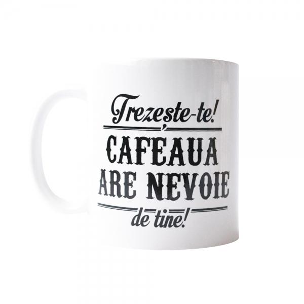 Cana Trezeste-te! Cafeaua Are Nevoie De Tine! 250 ML 2