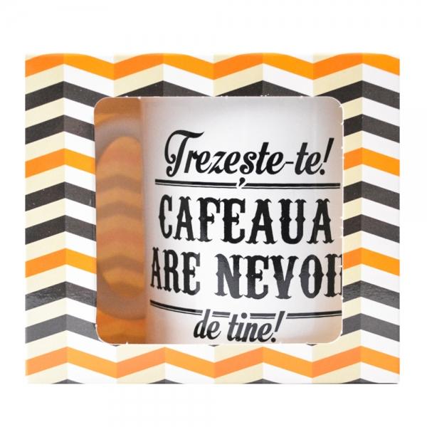Cana Trezeste-te! Cafeaua Are Nevoie De Tine! 250 ML 3
