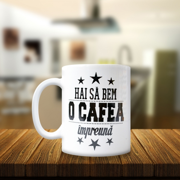 Cana Hai Sa Bem O Cafea Impreuna! 250 ML 1