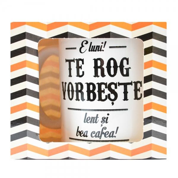 Cana E Luni! Te Rog Vorbeste Lent Si Bea Cafea! 250 ML 3