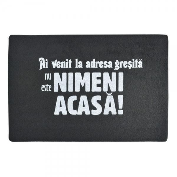 Covoras Nu Este Nimeni Acasa! 60X40 CM 2