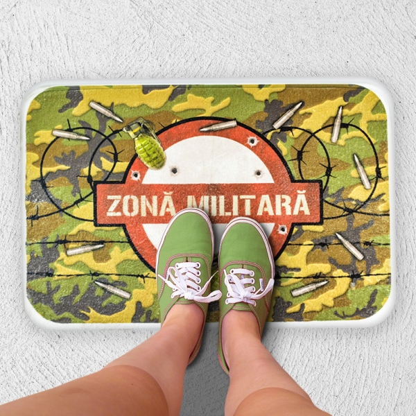 Covoras Zona Militara 60X40 CM 0
