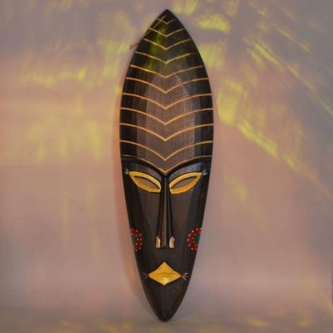 Decoratiune Africana Tablou Masca 0