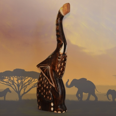Decoratiune Africana - Elefant #1