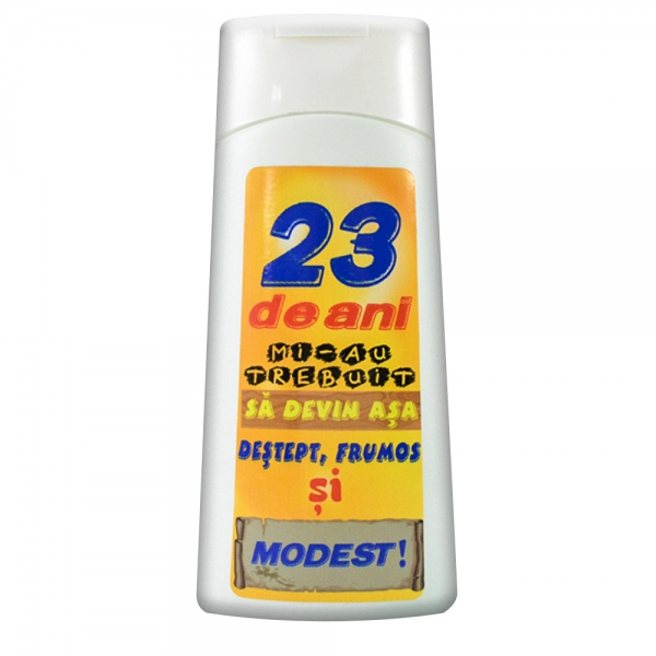 Gel De Dus 23 De Ani 250 ML 2