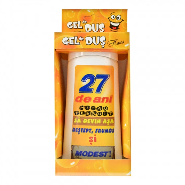 Gel De Dus 27 De Ani 250 ML 3