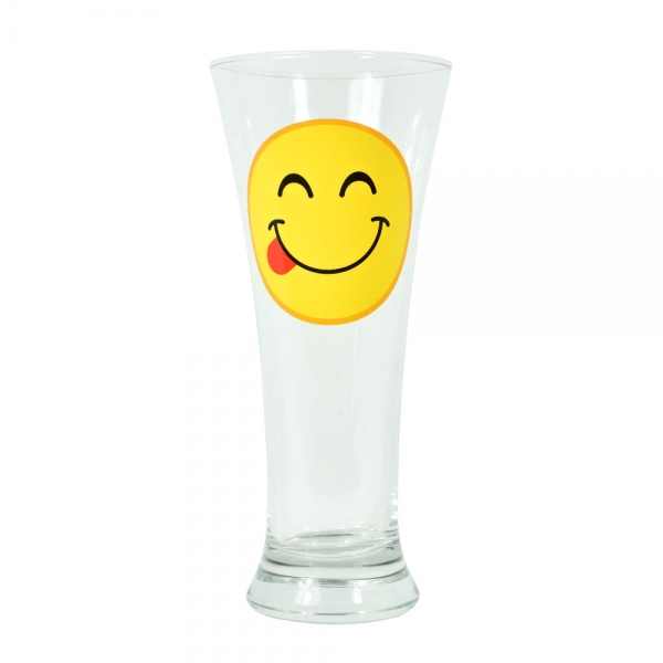 Pahar Bere Emoji Tongue 250 ML 2