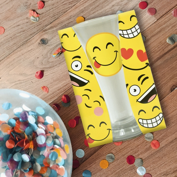 Pahar Bere Emoji Tongue 250 ML 0