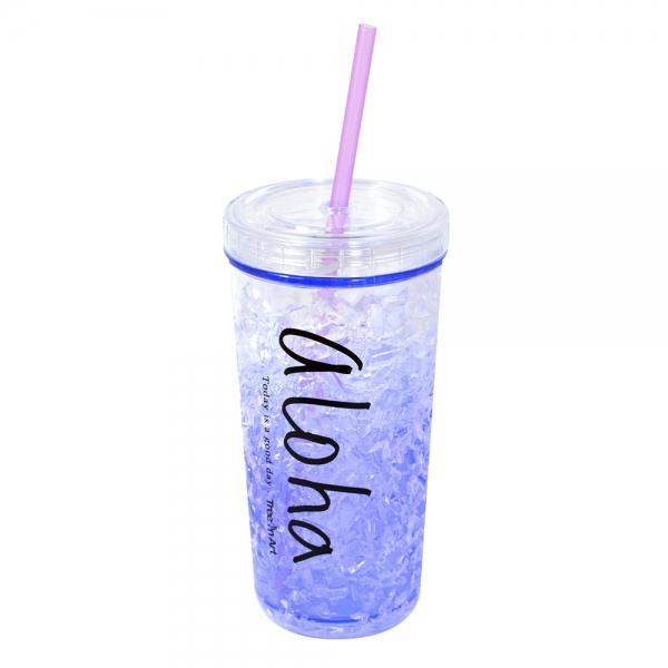 Pahar De Vara Cu Pai Cool Water #1 450 ML – Mentine Bautura Rece 2