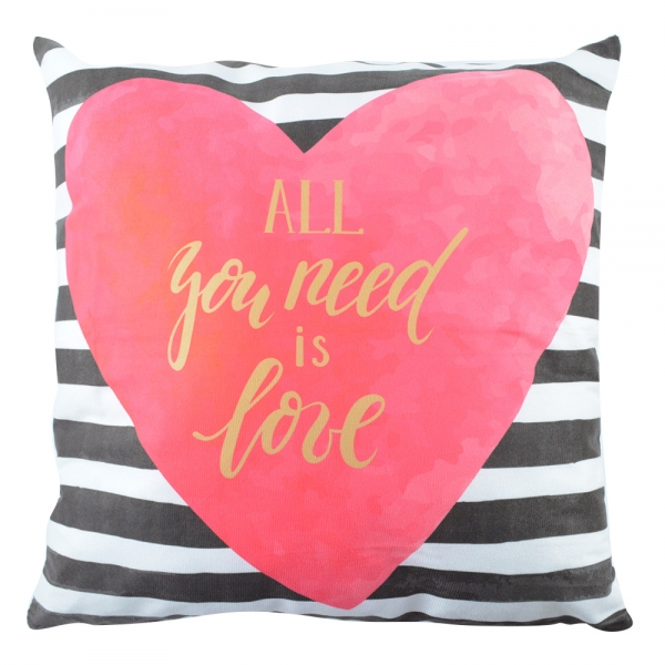 Perna Decorativa Love #4 45X45 CM 2