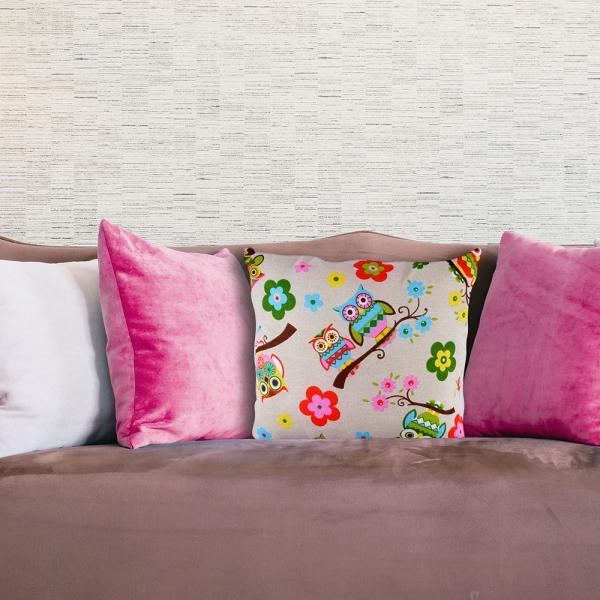 Perna Decorativa Bufnita #1 45X45 CM 0