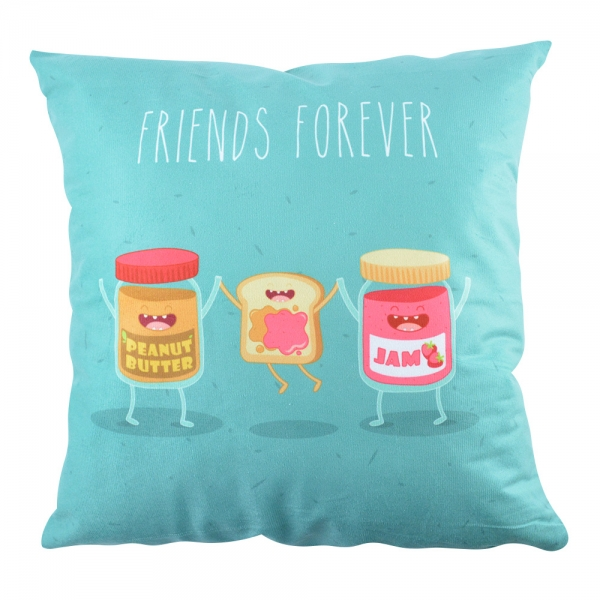 Perna Decorativa Friends Forever #1 45X45 CM 2