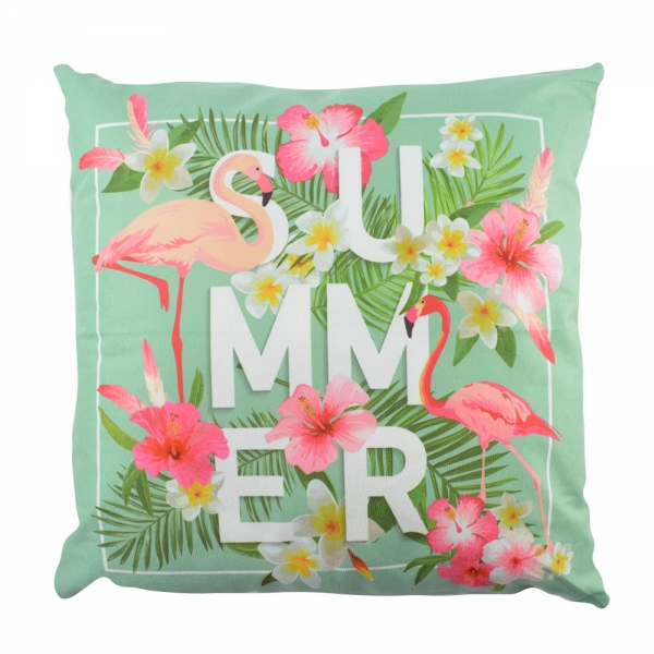 Perna Decorativa Flamingo Summer 45X45 CM 2