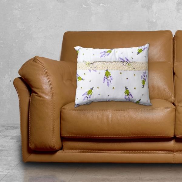 Perna Decorativa Lavanda #7 33X26 CM
