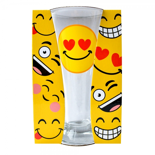 Pahar Bere Emoji Heart 250 ML 3