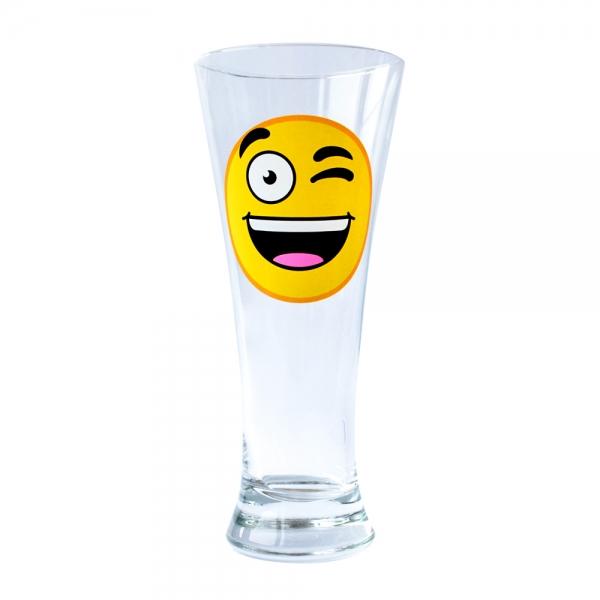 Pahar Bere Emoji Winky 250 ML