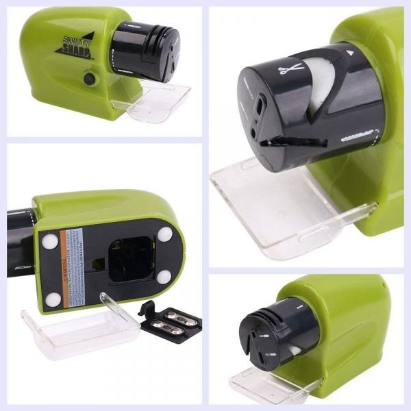 Dispozitiv Electric Pentru Ascutit Cutite, Foarfece, Surubelnite Swifty Sharp - 20W 4