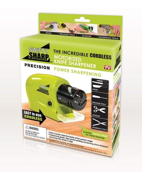 Dispozitiv Electric Pentru Ascutit Cutite, Foarfece, Surubelnite Swifty Sharp - 20W 5