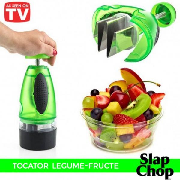 Aparat De Maruntit/Tocat Fructe Si Legume – Slap Chop