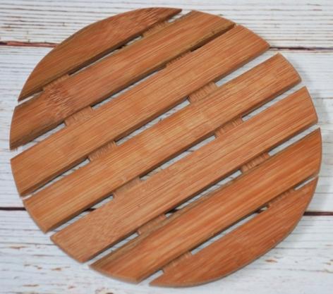 Suport din lemn pentru oala fierbinte - 14x14 cm 0