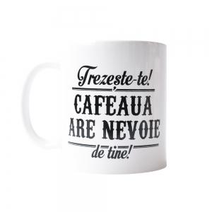 Cana Trezeste-te! Cafeaua Are Nevoie De Tine! 250 ML2
