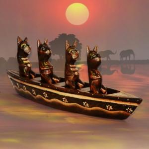 Decoratiune Africana - Pisica