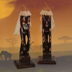 Decoratiune Africana Primitiv Set