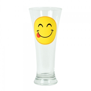 Pahar Bere Emoji Tongue 250 ML2