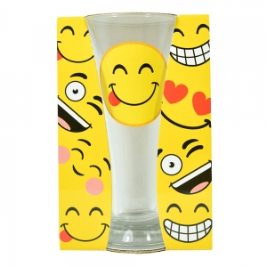 Pahar Bere Emoji Tongue 250 ML3