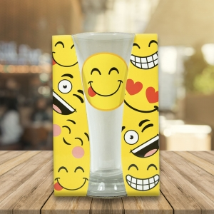 Pahar Bere Emoji Tongue 250 ML1