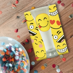 Pahar Bere Emoji Tongue 250 ML0
