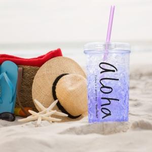 Pahar De Vara Cu Pai Cool Water #1 450 ML – Mentine Bautura Rece0