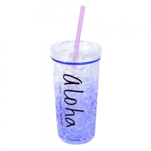 Pahar De Vara Cu Pai Cool Water #1 450 ML – Mentine Bautura Rece2