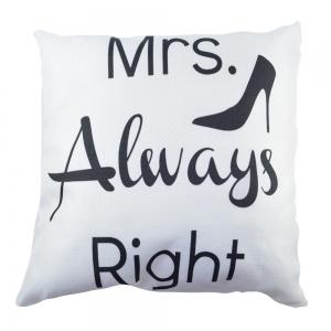 Perna Decorativa Mrs. Always Right 45X45 CM2