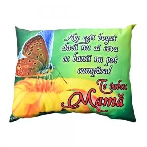 Perna Decorativa Te Iubesc Mama 33x26 CM