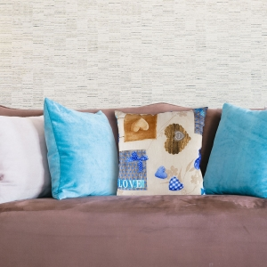 Perna Decorativa Love #1 45X45 CM0