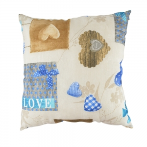 Perna Decorativa Love #1 45X45 CM2