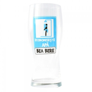 Pahar Bere Economiseste Apa! Bea Bere 400 ML2