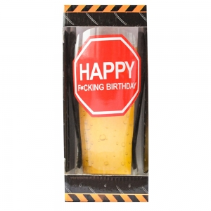 Pahar Bere Happy F*cking Birthday! 400 ML