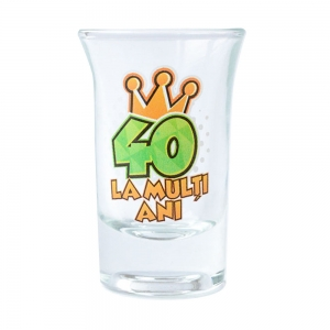 Pahar Shot La Multi Ani 40 35 ML2