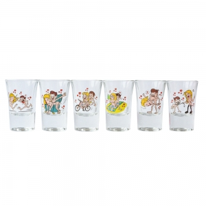 Set 6 Pahare Shot-uri Kamasutra #1 35 ML