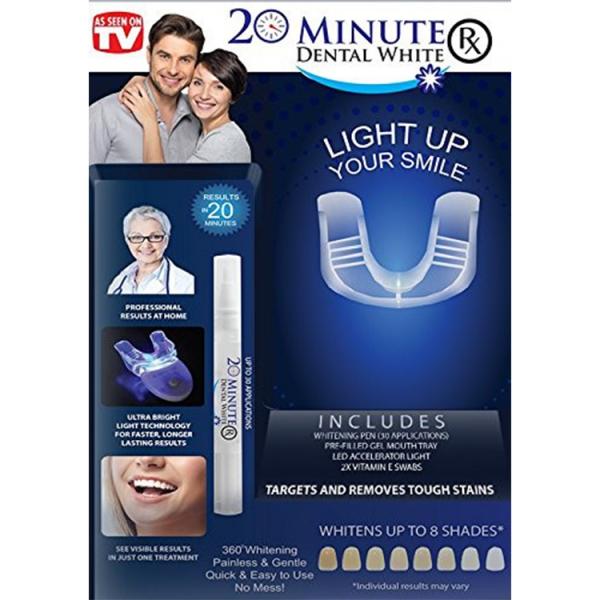 Aparat Pentru Albirea Dintilor – 20 Minute Dental White