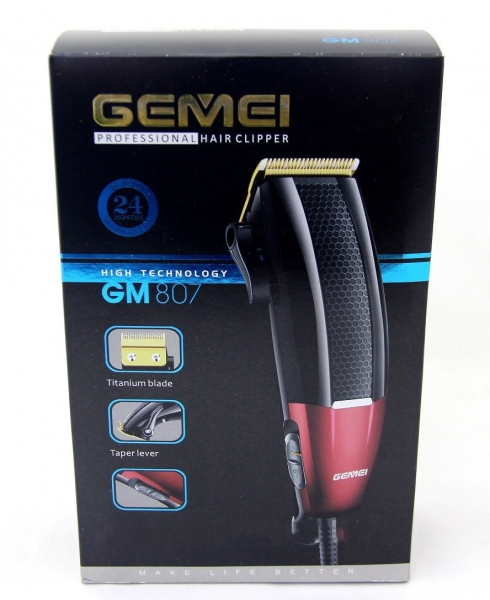 Aparat De Tuns Gemei GM-807 - 9W