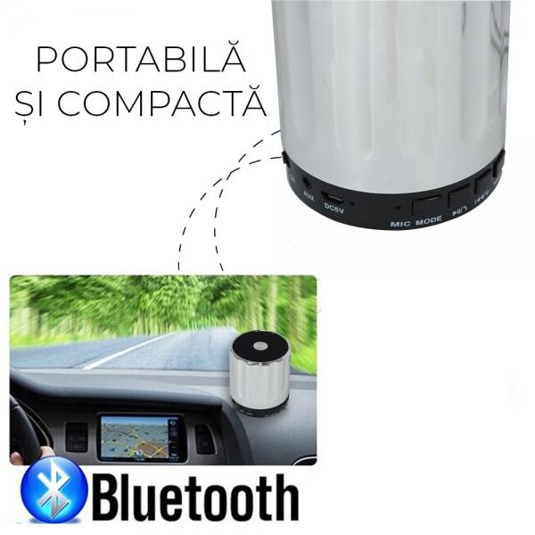 Boxa Bluetooth Portabila - 9 cm