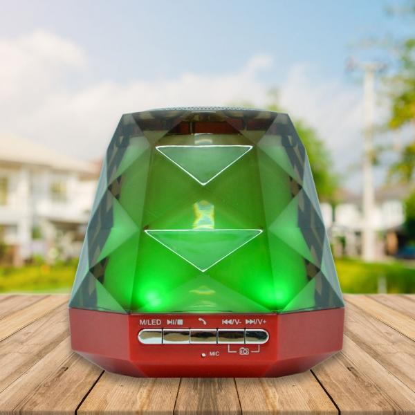 Boxa Bluetooth Portabila - 9 cm - Cu LED