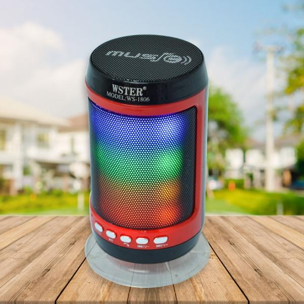 Boxa Bluetooth Portabila - 12 cm - Cu LED