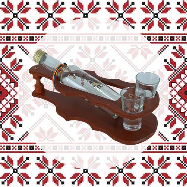 Minibar Sticla De Vin Si 2 Pahare – Vioara