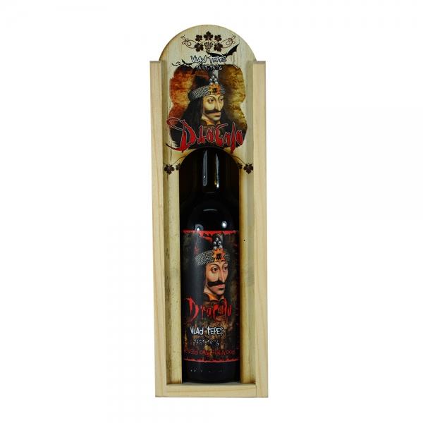 Sticla De Vin In Cutie Decorativa – Dracula