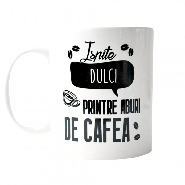 Cana Ispite Dulci Printre Aburi De Cafea 250 ML
